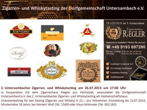 Flyer Zigarren u. WT